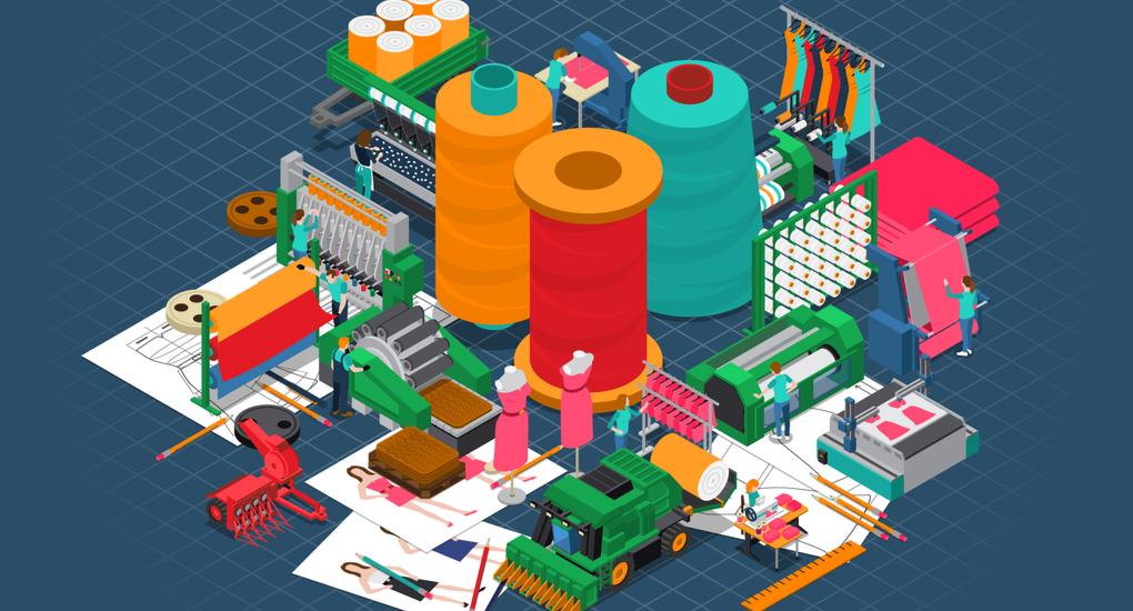 Tool 4.0 per una produzione efficiente nell'industria tessile